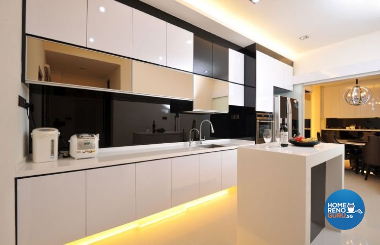 Contemporary, Modern Design - Kitchen - Landed House - Design by Boon Siew D'sign Pte Ltd