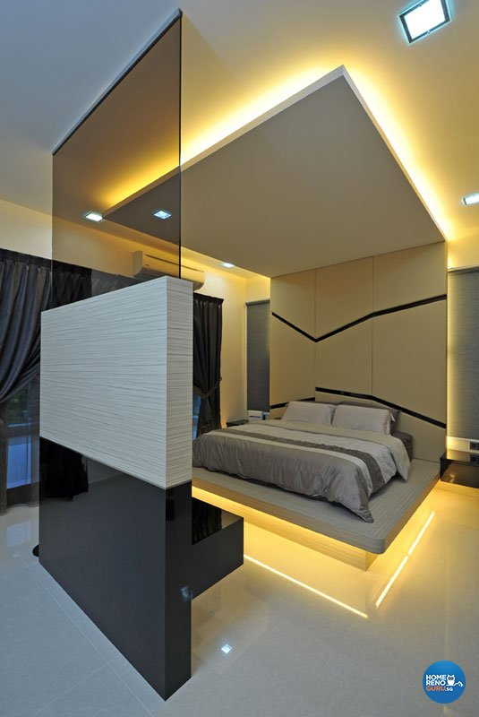 Contemporary, Modern Design - Bedroom - Landed House - Design by Boon Siew D'sign Pte Ltd