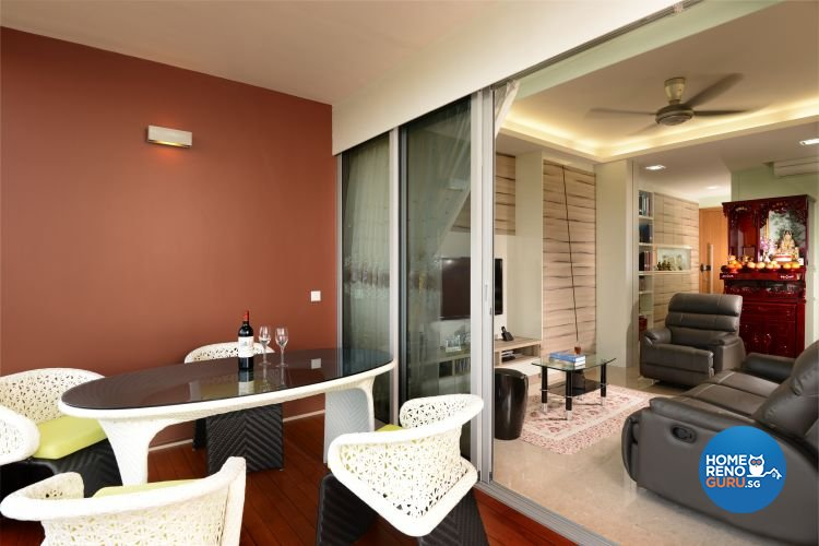 Classical, Contemporary, Modern Design - Balcony - Condominium - Design by Boon Siew D'sign Pte Ltd