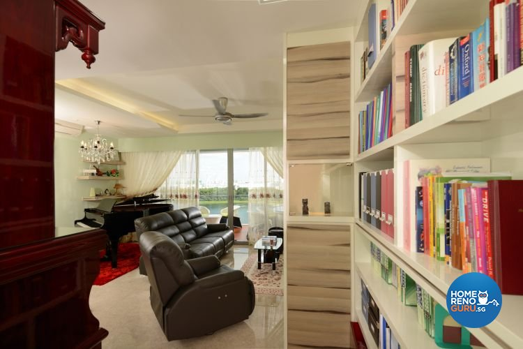Classical, Contemporary, Modern Design - Living Room - Condominium - Design by Boon Siew D'sign Pte Ltd