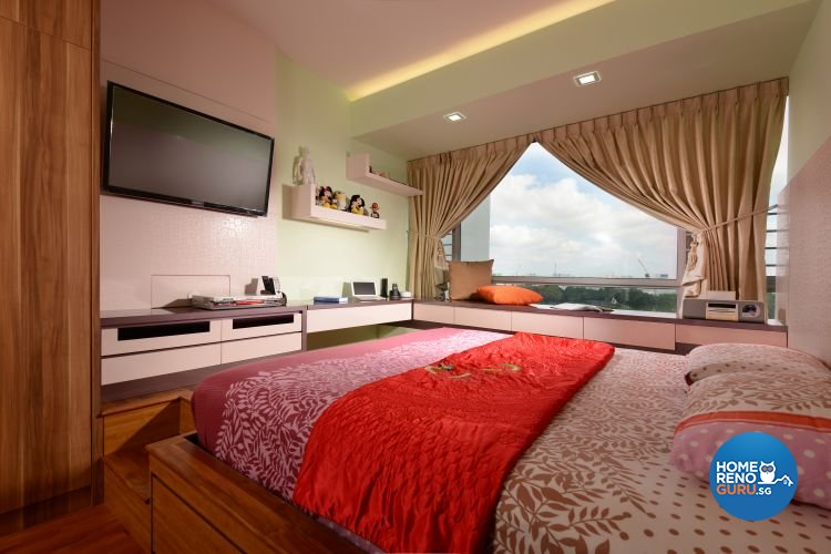 Classical, Contemporary, Modern Design - Bedroom - Condominium - Design by Boon Siew D'sign Pte Ltd