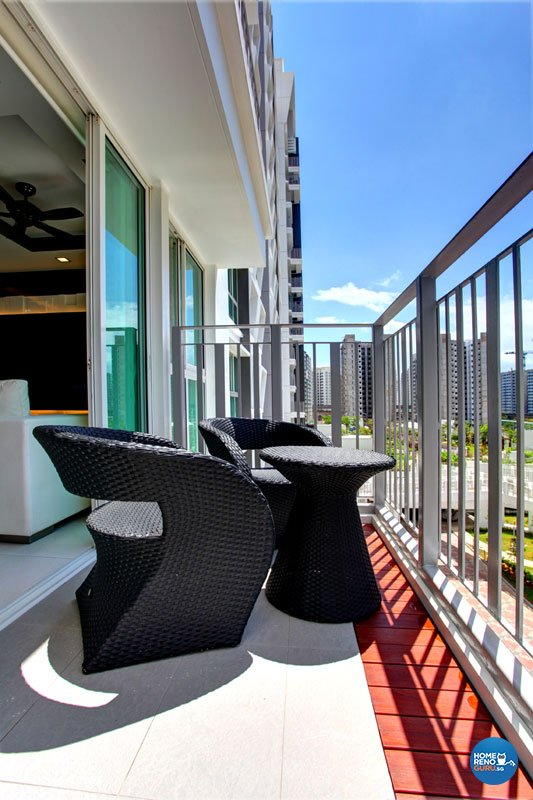 Contemporary, Modern Design - Balcony - HDB 4 Room - Design by Boxplan Design Connection Pte Ltd