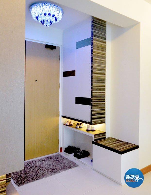 Contemporary, Modern Design - Living Room - HDB 5 Room - Design by Boxplan Design Connection Pte Ltd