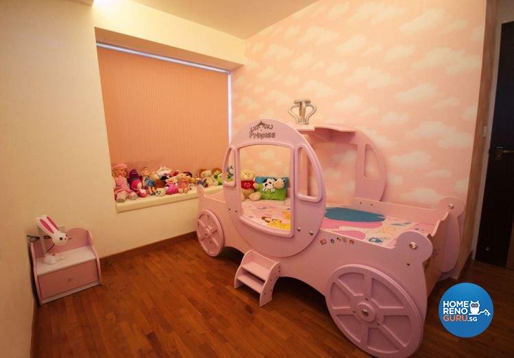 Contemporary, Modern Design - Bedroom - HDB 5 Room - Design by Boxplan Design Connection Pte Ltd