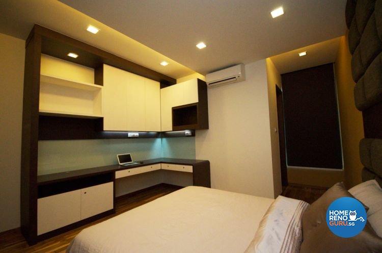 Contemporary Design - Bedroom - Landed House - Design by Boxplan Design Connection Pte Ltd