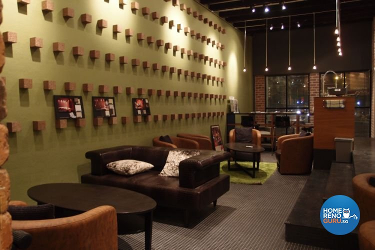 Contemporary, Industrial Design - Dining Room - Office - Design by Brick & Tungsten Pte Ltd