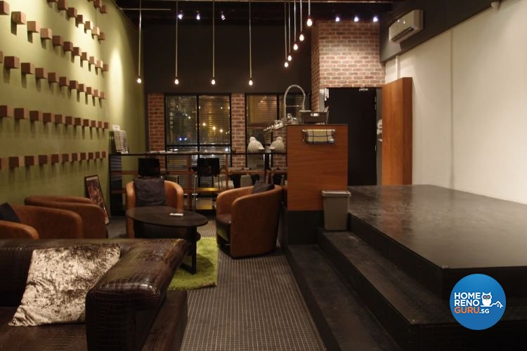 Contemporary, Industrial Design - Study Room - Office - Design by Brick & Tungsten Pte Ltd