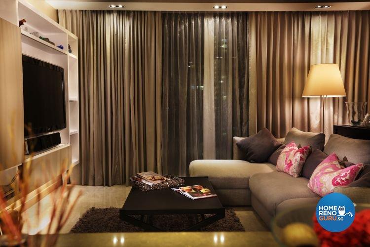 Contemporary, Modern Design - Living Room - Condominium - Design by Briey Interior