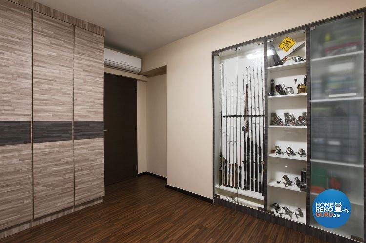 Minimalist, Scandinavian Design - Bedroom - HDB 5 Room - Design by Brilliant D Concept Pte Ltd