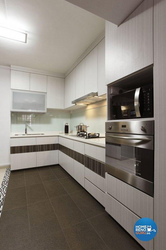 Minimalist, Scandinavian Design - Kitchen - HDB 5 Room - Design by Brilliant D Concept Pte Ltd