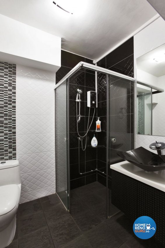 Contemporary, Modern Design - Bathroom - HDB 4 Room - Design by Brilliant D Concept Pte Ltd