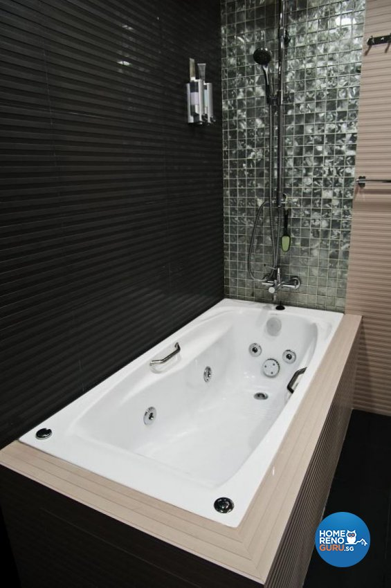 Contemporary, Modern Design - Bathroom - Landed House - Design by Brilliant D Concept Pte Ltd