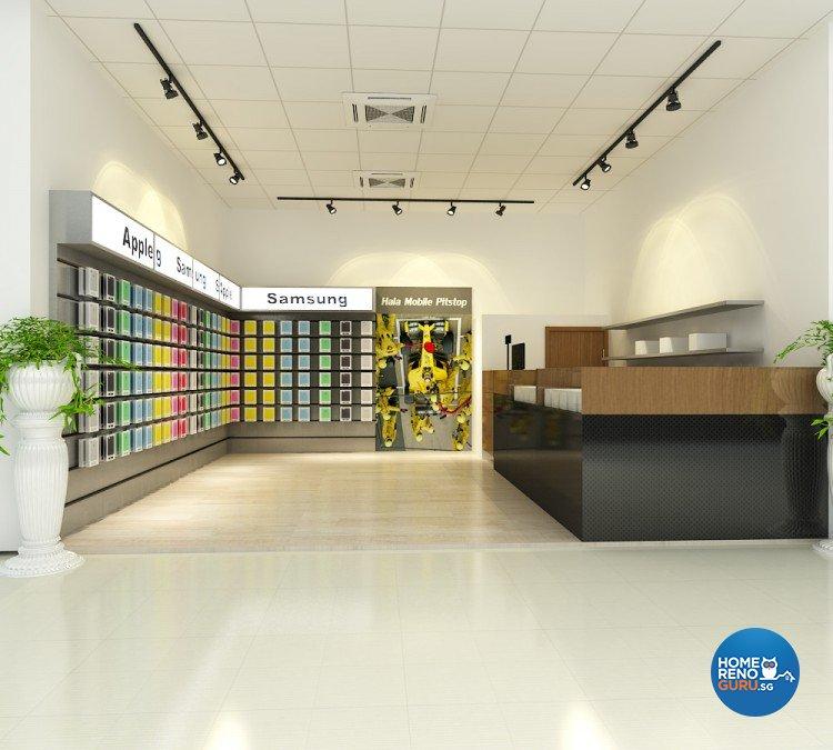 Contemporary, Modern Design - Commercial - Retail - Design by BuiltSpacez Design Pte Ltd