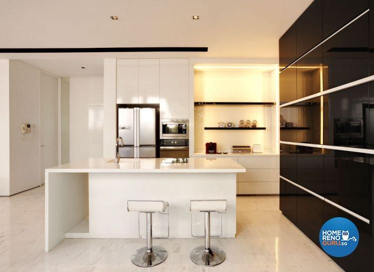 Classical, Minimalist Design - Dining Room - Landed House - Design by Cactus Art Design & Furnishing Pte Ltd
