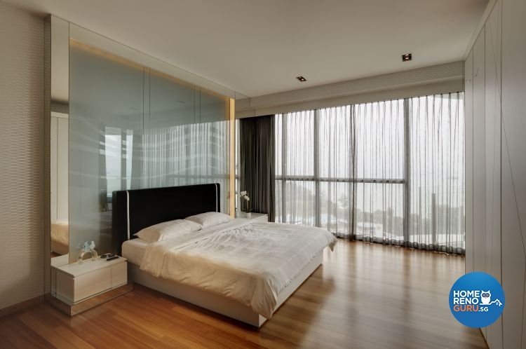 Minimalist, Modern Design - Bedroom - Condominium - Design by Cactus Art Design & Furnishing Pte Ltd