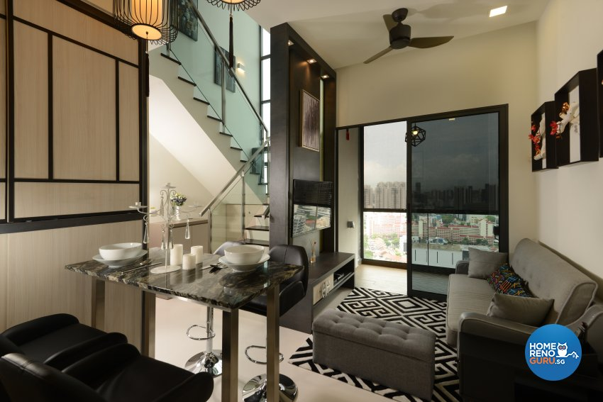 Classical, Contemporary, Modern Design - Dining Room - Condominium - Design by Cad Associates ID Pte Ltd