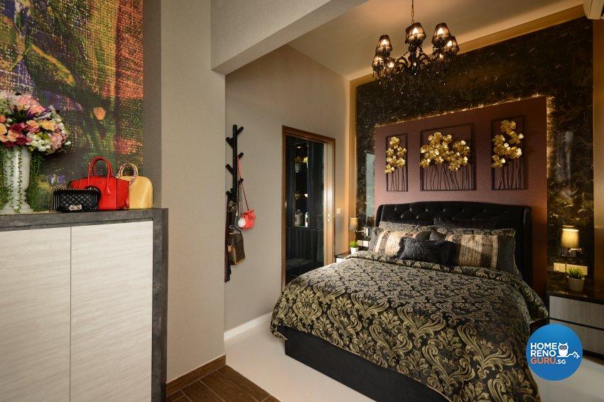 Classical, Contemporary, Modern Design - Bedroom - Condominium - Design by Cad Associates ID Pte Ltd
