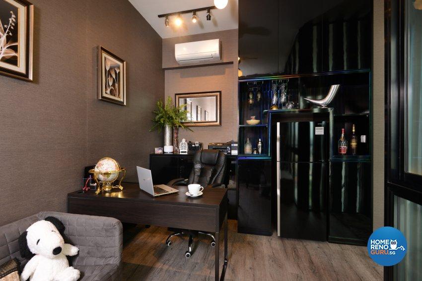 Classical, Contemporary, Modern Design - Study Room - Condominium - Design by Cad Associates ID Pte Ltd