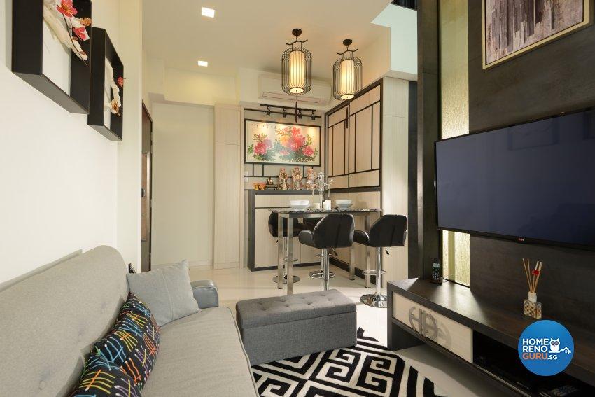Classical, Contemporary, Modern Design - Living Room - Condominium - Design by Cad Associates ID Pte Ltd