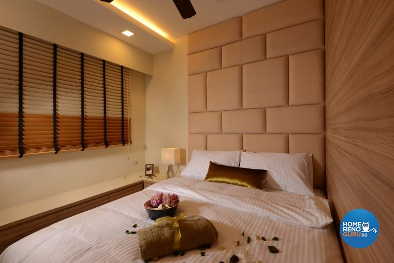 Contemporary, Modern, Resort Design - Bedroom - HDB 5 Room - Design by Cad Associates ID Pte Ltd