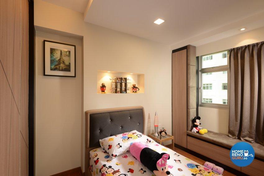 Contemporary, Modern, Resort Design - Bedroom - HDB 5 Room - Design by Cad Associates ID Pte Ltd