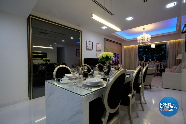 Contemporary, Modern Design - Dining Room - Condominium - Design by Calibre Renovation & Design Studio