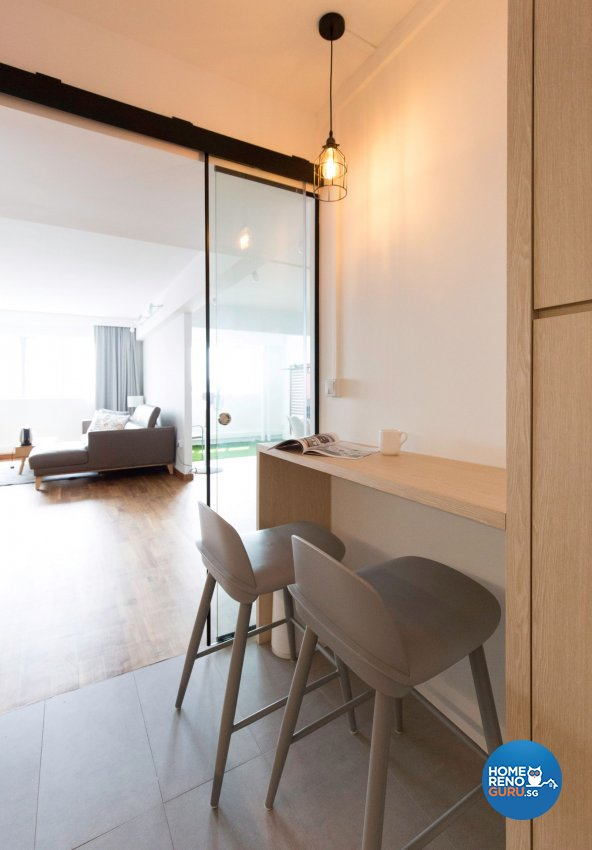 Minimalist Design - Kitchen - HDB 5 Room - Design by Carpenters 匠