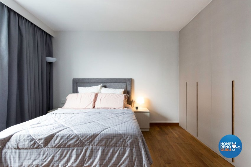 Minimalist Design - Bedroom - HDB 5 Room - Design by Carpenters 匠