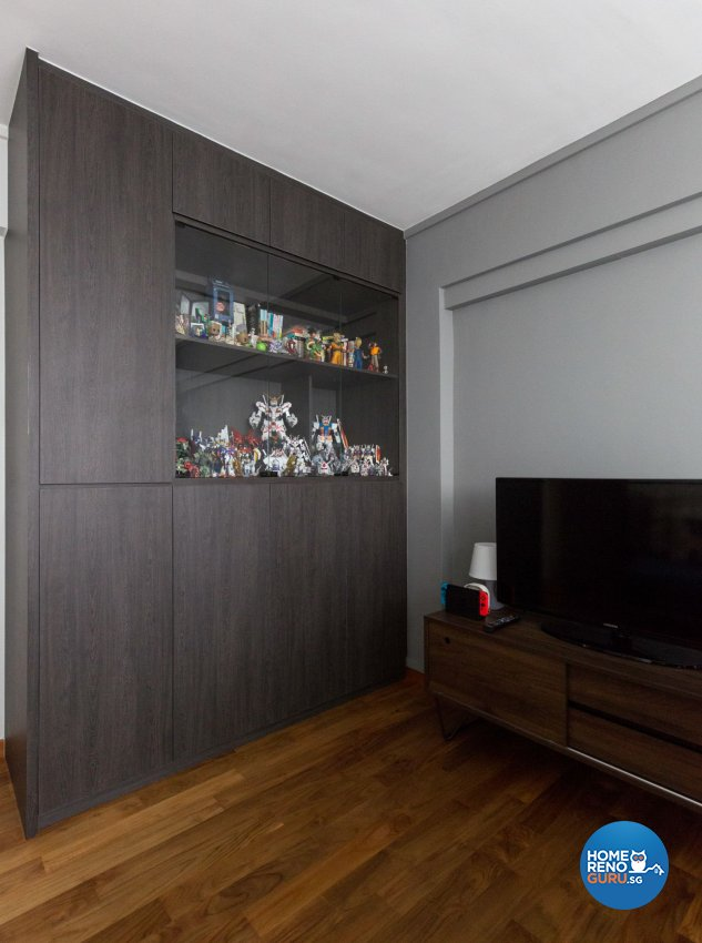 Minimalist Design - Entertainment Room - HDB 5 Room - Design by Carpenters 匠