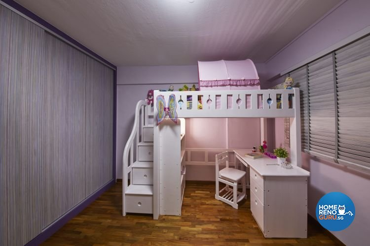 Industrial, Minimalist, Scandinavian Design - Bedroom - HDB 5 Room - Design by Carpenters 匠