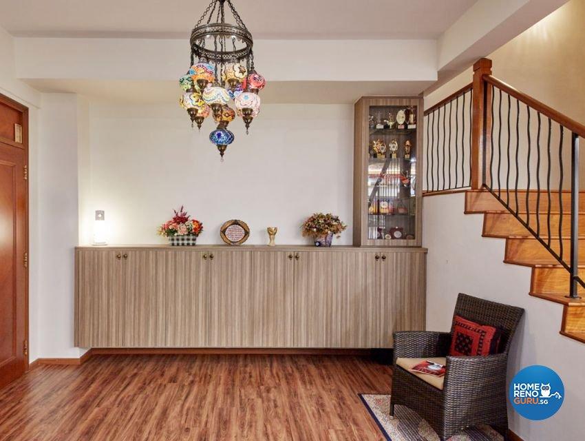 Contemporary, Mediterranean, Modern Design - Living Room - Landed House - Design by Carpenters 匠