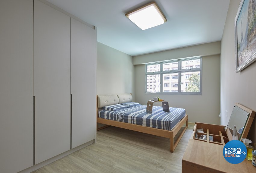 Minimalist, Scandinavian Design - Bedroom - HDB 4 Room - Design by Carpenters 匠
