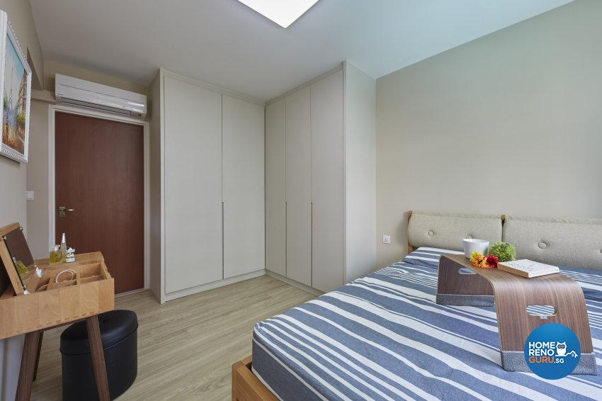Minimalist, Scandinavian Design - Bedroom - HDB 4 Room - Design by Carpenters 匠