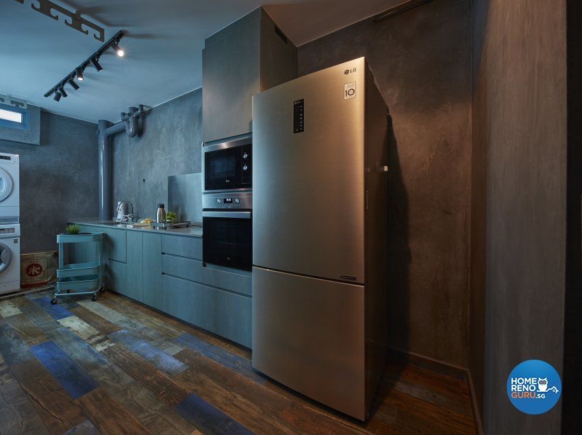 Eclectic, Industrial Design - Kitchen - HDB 5 Room - Design by Carpenters 匠