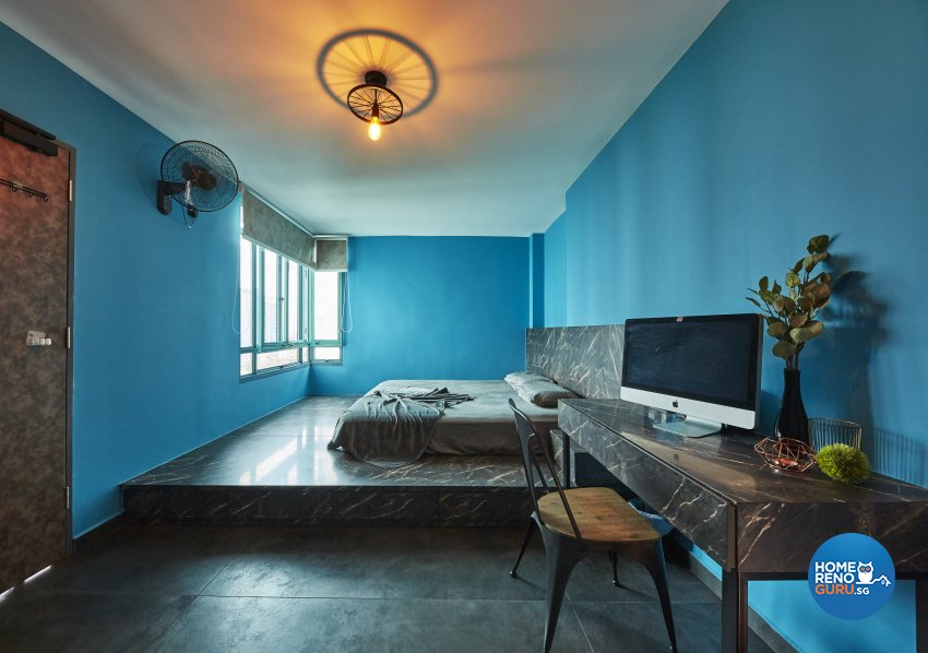 Eclectic, Industrial Design - Bedroom - HDB 5 Room - Design by Carpenters 匠