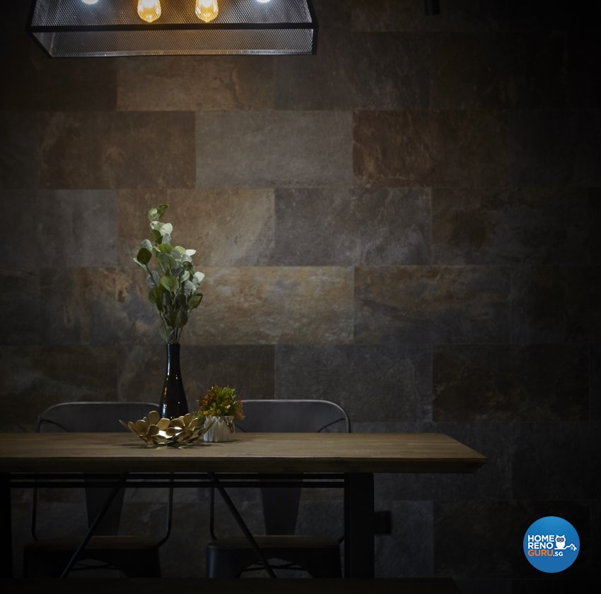 Eclectic, Industrial Design - Dining Room - HDB 5 Room - Design by Carpenters 匠