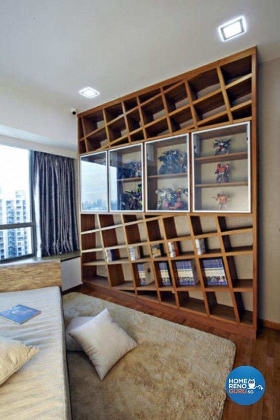 Contemporary, Modern Design - Entertainment Room - Condominium - Design by Carpenters 匠
