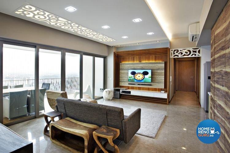 Singapore interior design gallery design details for A t design decoration co ltd