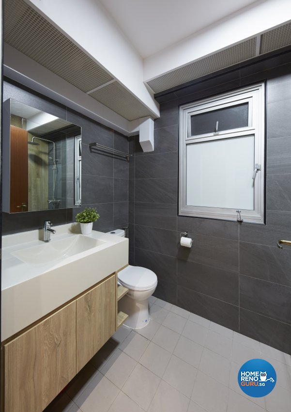 Modern, Rustic, Scandinavian Design - Bedroom - HDB 4 Room - Design by Carpenters 匠