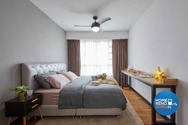 Eclectic, Minimalist, Scandinavian Design - Bedroom - HDB 4 Room - Design by Carpenters 匠