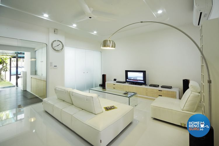 Contemporary, Modern Design - Living Room - Landed House - Design by Carpenters 匠