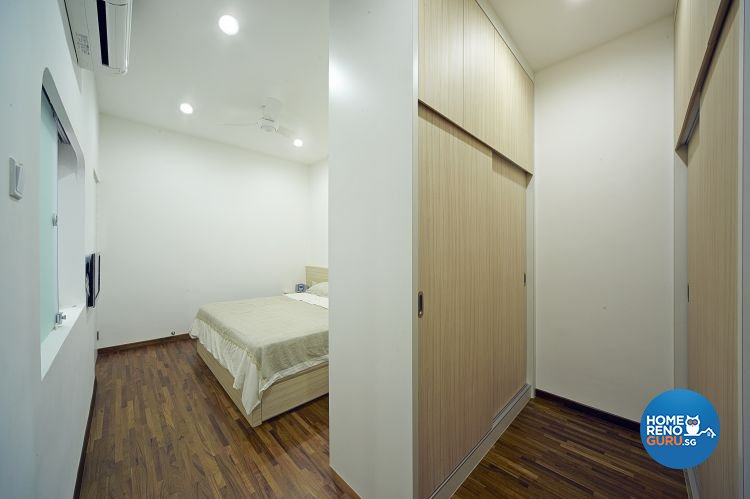 Contemporary, Modern Design - Bedroom - Landed House - Design by Carpenters 匠