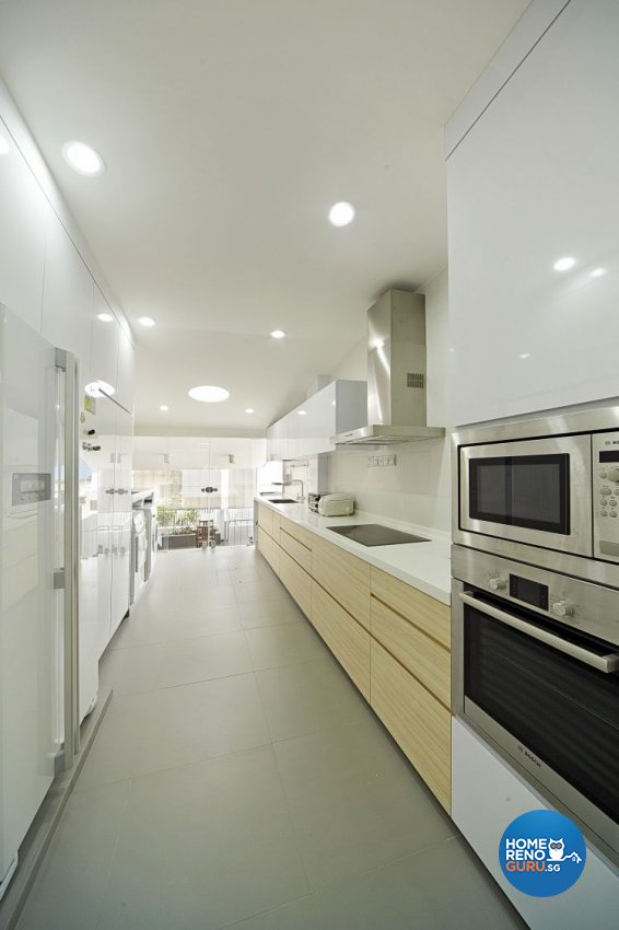 Contemporary, Modern Design - Kitchen - Landed House - Design by Carpenters 匠