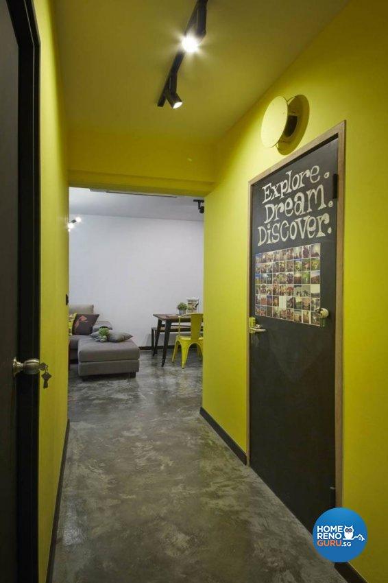 Industrial, Rustic, Scandinavian Design - Bedroom - HDB 3 Room - Design by Carpenters 匠