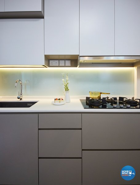 Eclectic, Modern, Scandinavian Design - Kitchen - HDB 4 Room - Design by Carpenters 匠