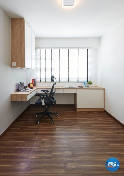 Eclectic, Modern, Scandinavian Design - Study Room - HDB 4 Room - Design by Carpenters 匠