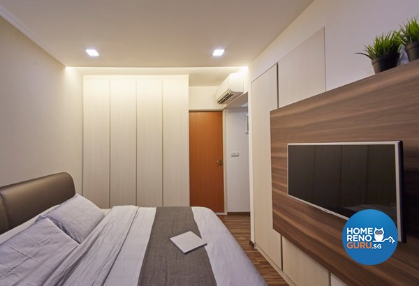 Eclectic, Modern, Scandinavian Design - Bedroom - HDB 4 Room - Design by Carpenters 匠
