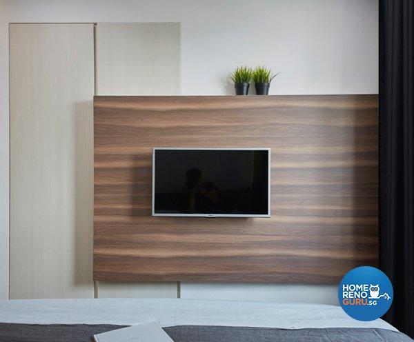 Eclectic, Modern, Scandinavian Design - Bedroom - HDB 4 Room - Design by Carpenters 匠
