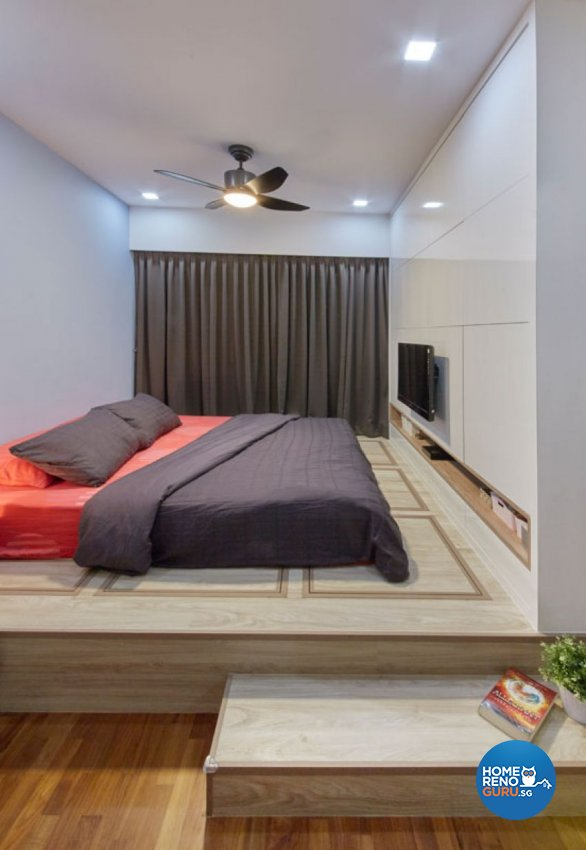 Classical, Contemporary, Modern Design - Bedroom - HDB Executive Apartment - Design by Carpenters 匠