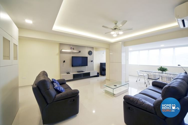 Contemporary, Modern Design - Living Room - Condominium - Design by Carpenters 匠